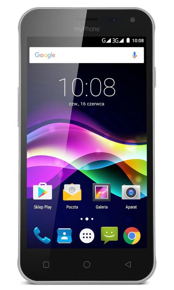 "Mobilní telefon myPhone FUN 5 černý Mobilní telefon, Dual SIM, Quad core 1,3GHz, 1GB RAM, 8GB, 5,0"" IPS, 5MPx, Android 6.0, černý"