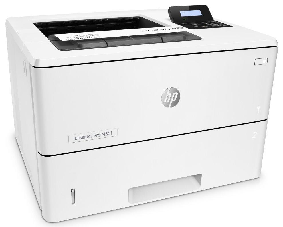 HP LaserJet Pro M501dn/ A4/ 43 ppm/ 600x600 dpi/ Duplex/ USB/ LAN