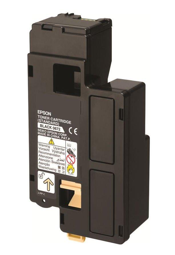 Epson tonerová kazeta AcuLaser C13S050672 / C1700/ 1750/ CX17/ 700 stran/ Černý