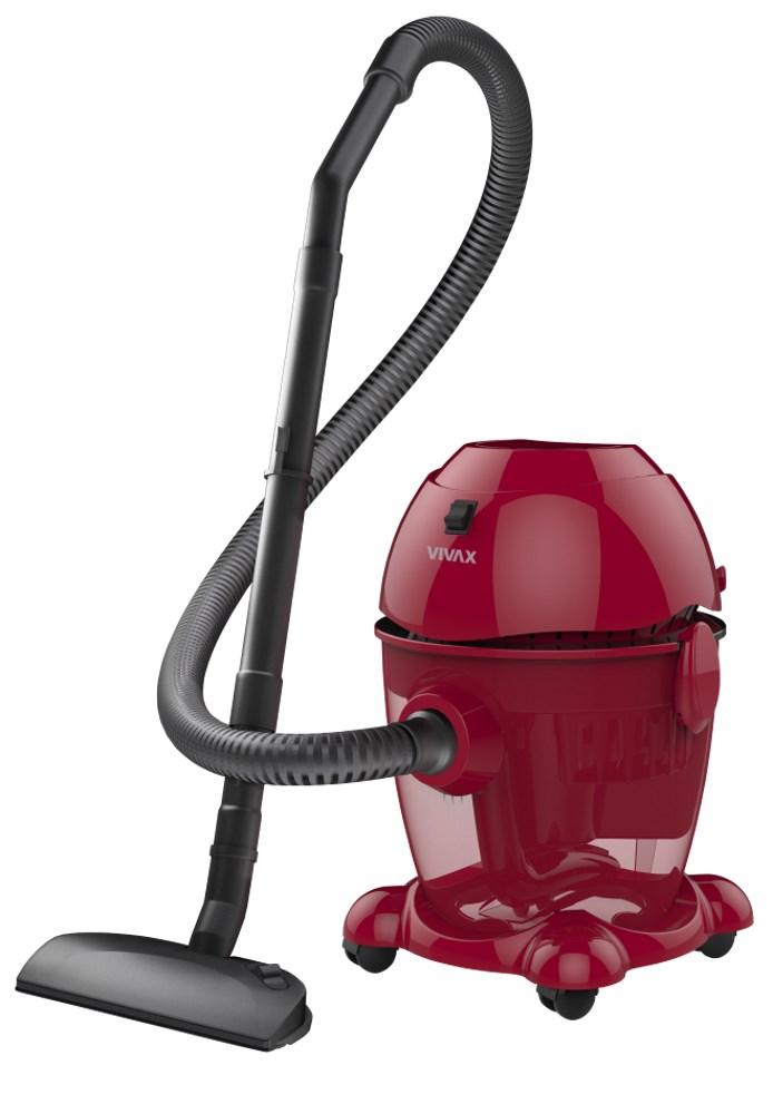 Vysavač VIVAX VCW-2001R červený Vysavač, 2000W, 8l nádoba, vodní filtrace, červený