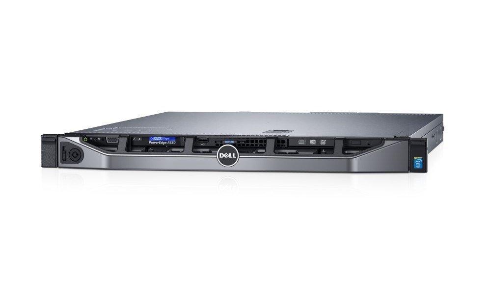Server Dell PowerEdge R330 Server, Xeon E3-1230 v5, 16GB, 4x 1TB NLSAS 7.2k, H730, DVDRW, 2x 350W, iDRAC 8 Enterprise, 3YNBD on-site