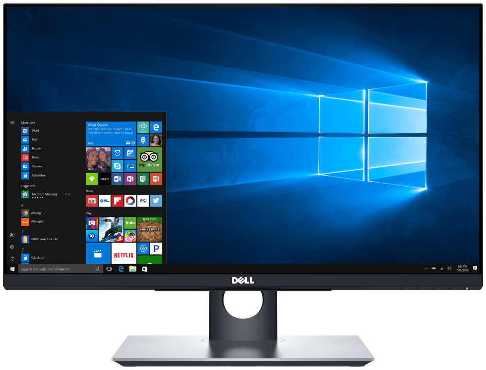 LED monitor Dell P2418HT 24