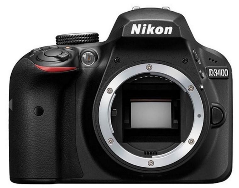 Zrcadlovka Nikon D3400 + 18-105mm VR Zrcadlovka, digitální, 24,2 MPx, Bluetooth, SnapBridge + objektiv Nikon 18-105, černý