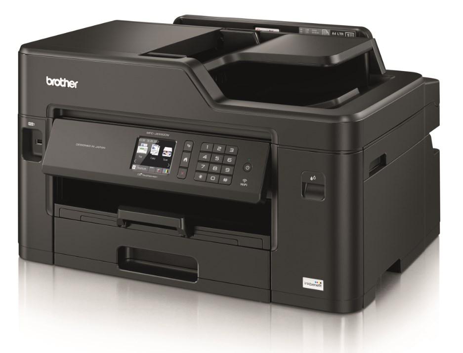 BROTHER multifunkční tiskárna MFC–J2330DW / inkoustová / A3 / dotykový displej / USB / LAN / Wi-Fi