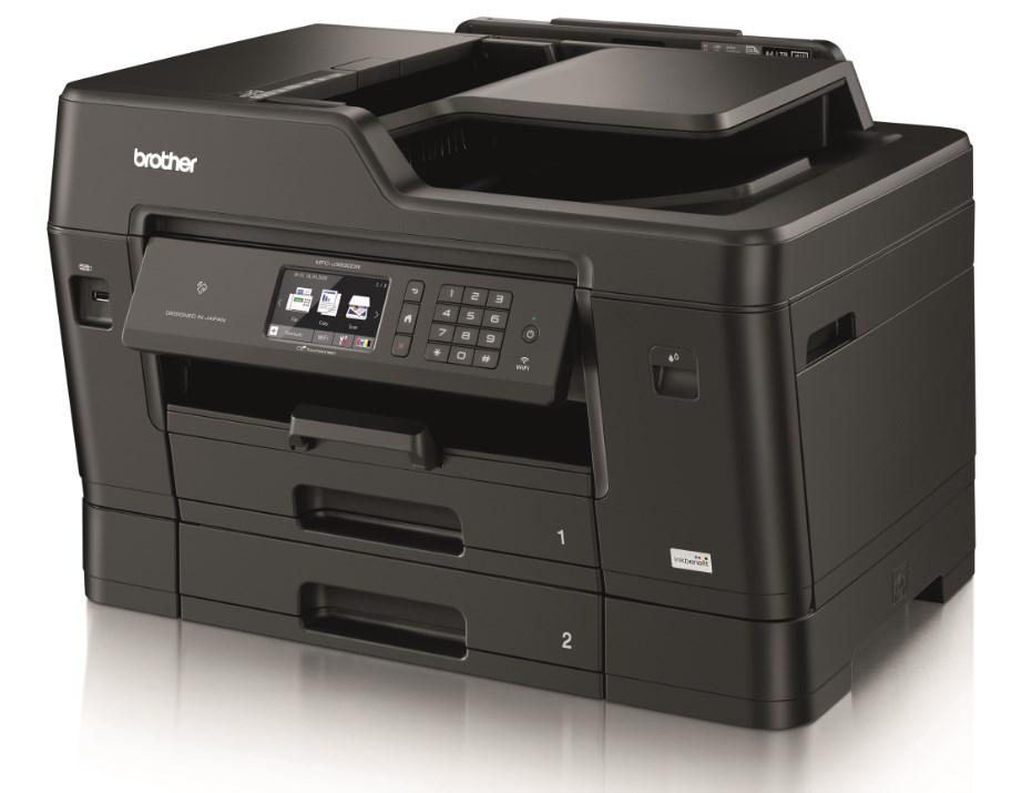 BROTHER multifunkční tiskárna MFC–J3930DW / inkoustová / A3 / dotykový displej / USB / LAN / Wi-Fi / NFC