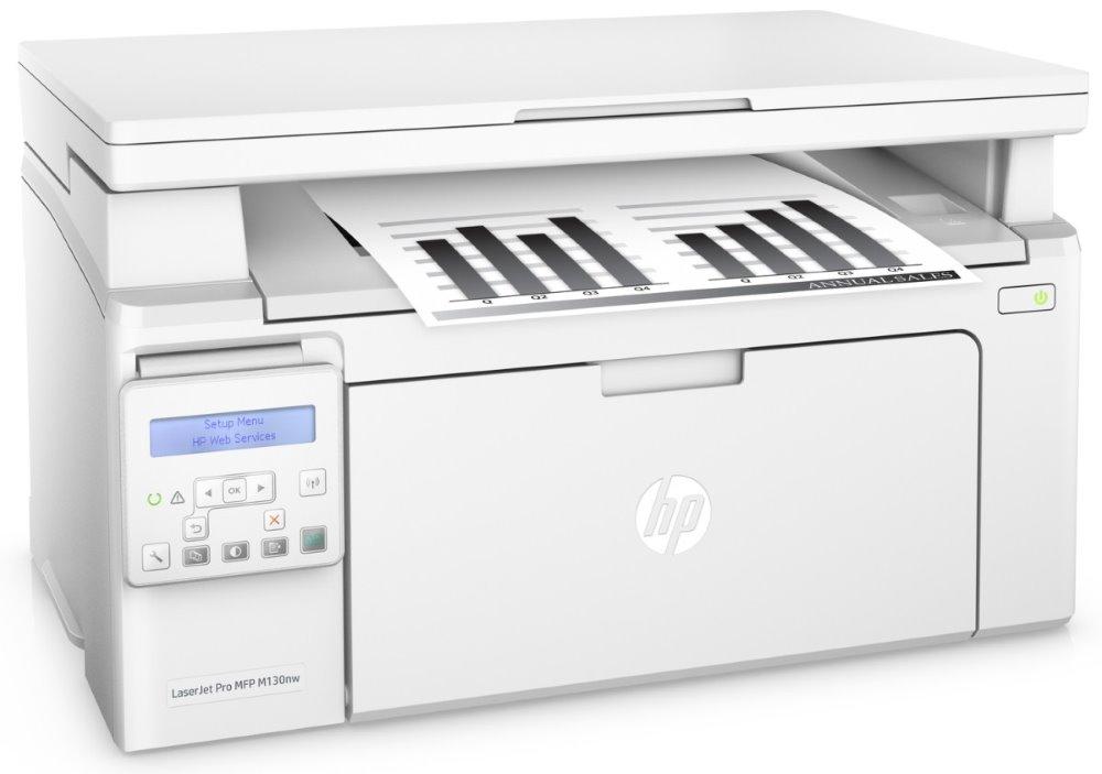 HP LaserJet Pro M130nw MFP/ A4/ 22ppm/ print+scan+copy/ 600x600dpi/ USB/ LAN/ Wifi