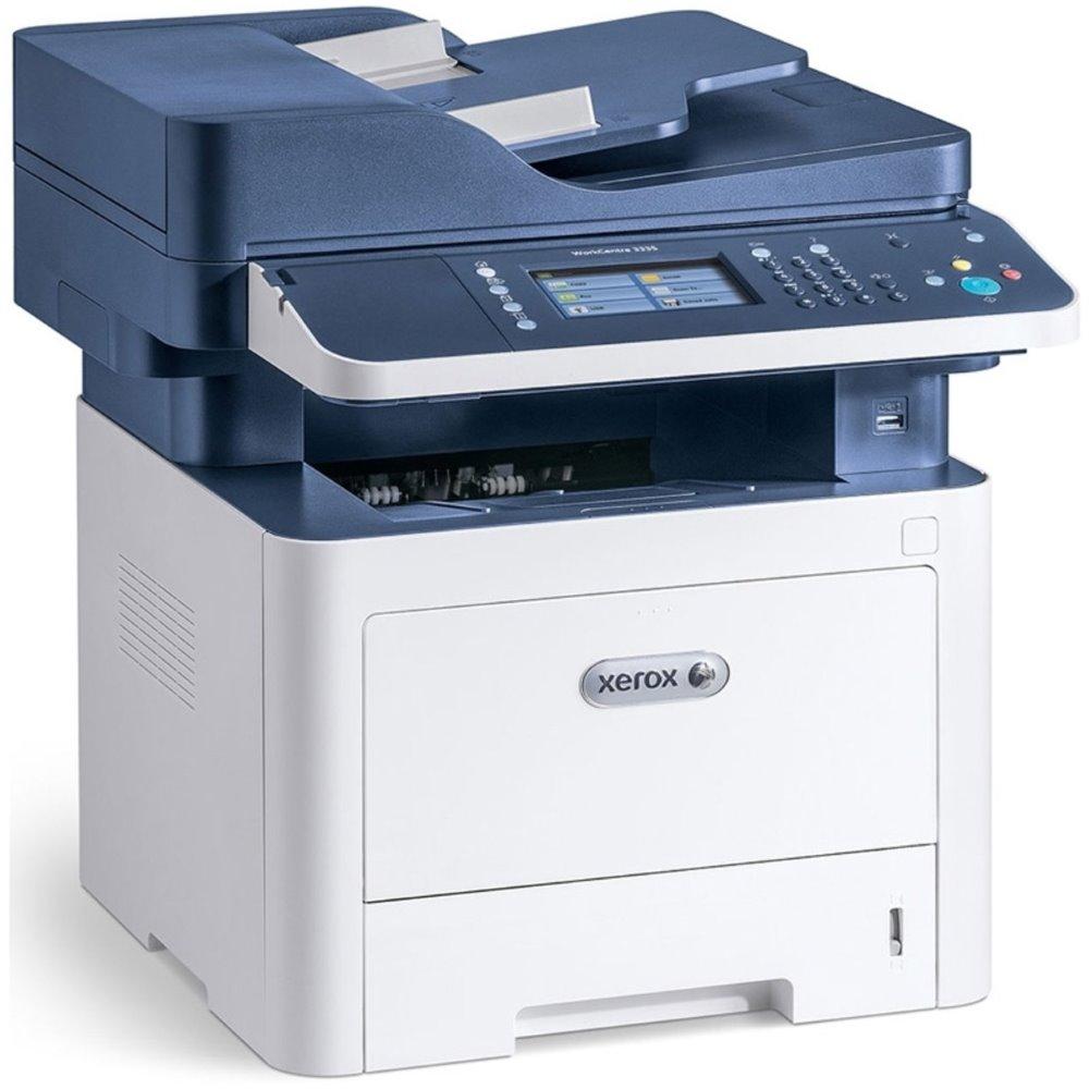 Multifunkční tiskárna Xerox WorkCentre 3335V_DNI Černobílá multifunkční laserová tiskárna, A4, USB, Ethernet, ADF, 33 str/min, Duplex, Fax