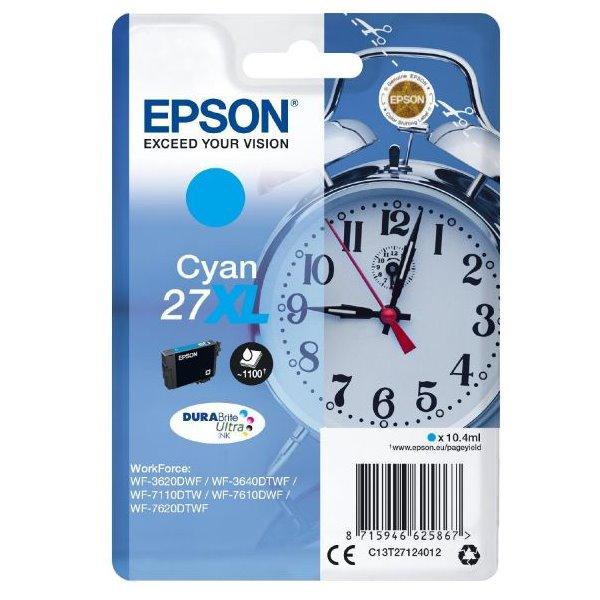Epson inkoustová náplň/ T2712/ Singlepack 27 XL DURABrite Ultra Ink/ Modrá