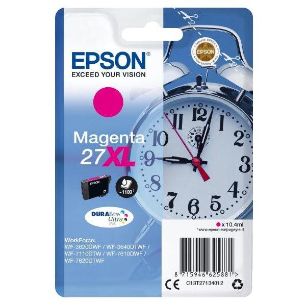 Epson inkoustová náplň/ T2713/ Singlepack 27XL DURABrite Ultra Ink/ Magenta