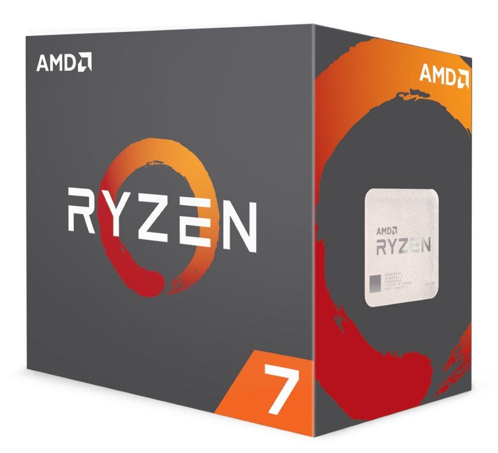 Procesor AMD Ryzen 7 1700X Ryzen Procesor, 8 jader, 16 vláken, max. 3,8 GHz, 20 MB, LGA AM4, 95 W TDP, Box bez chladiče