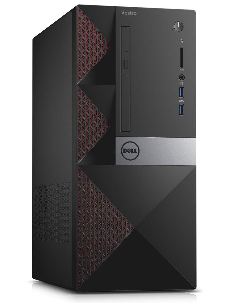 Počítač Dell Vostro 3668 Počítač, i5-7400, 8GB, 1TB (7200), NVIDIA GT 710 2GB, DVDRW, Wi-Fi, čtečka, W10Pro, 3YNBD on-site
