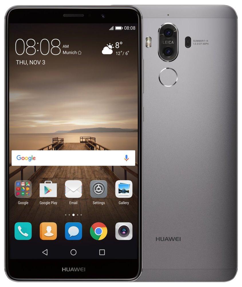 "Mobilní telefon Huawei Mate 9 šedý Mobilní telefon, Dual SIM, Octa core 2,4GHz, 4GB RAM, 64GB, 5,9"", Android 7.0, šedý"