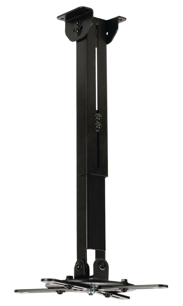 Držák Valueline VLM-PM30 Držák, nástěnný, pro projektor, nosnost 10 kg, otáčení 360°, 4 ramena, černý