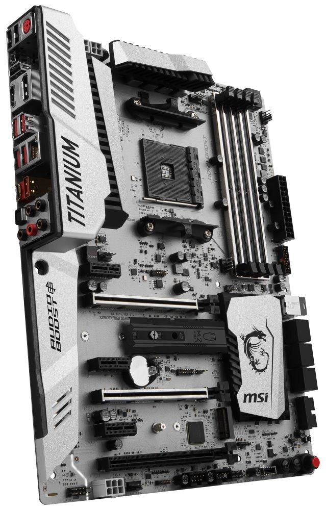 Základní deska MSI X370 XPOWER GAMING TITANIUM Základní deska, AMD X370, AM4, Ryzen, 4x DDR4, ATX