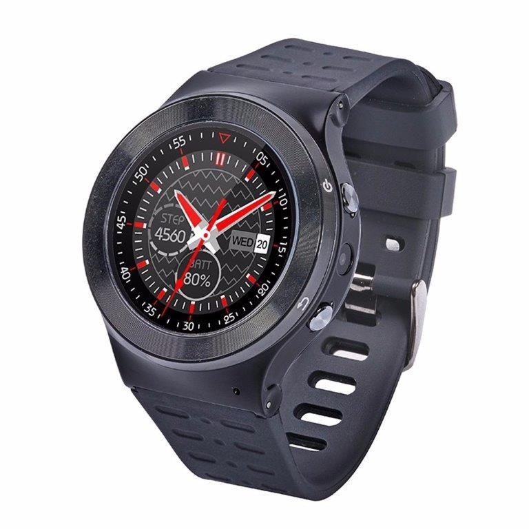 """Chytré hodinky IMMAX SW3 Chytré hodinky, 1,33"""" LCD, MT6580, 512MB RAM, 8GB paměť, BT, micro USB, česká lokalizace, Android 5.1"""