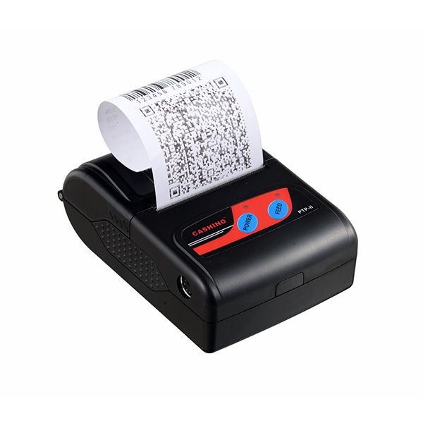 Pokladní tiskárna Cashino PTP-II Pokladní tiskárna, termo, rychlost 50-80mm/s, 58mm, USB, Bluetooth, výdrž bat. až 8hodin, iOS