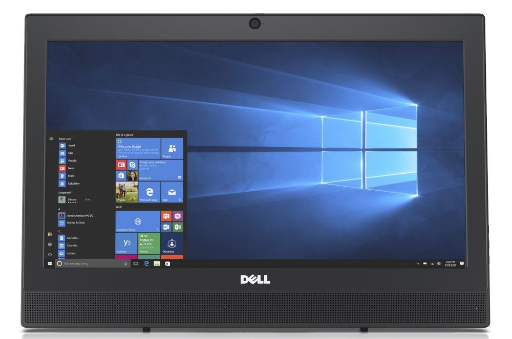 "All-in-one počítač Dell OptiPlex 20 3000 (3050) All-in-one počítač, 19,5"" HD+, i5-7500T, 8GB, 500GB (7200), DVDRW, Wi-Fi, W10Pro, 3YNBD on-site"