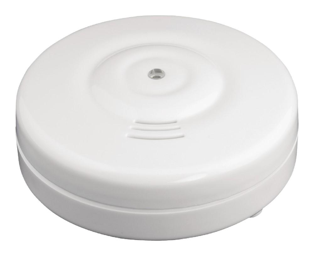 Detektor König hlásič úniku vody Detektor, hlásič úniku vody, hlasitost 85 dB, 1x 9V/6LR61, bílý
