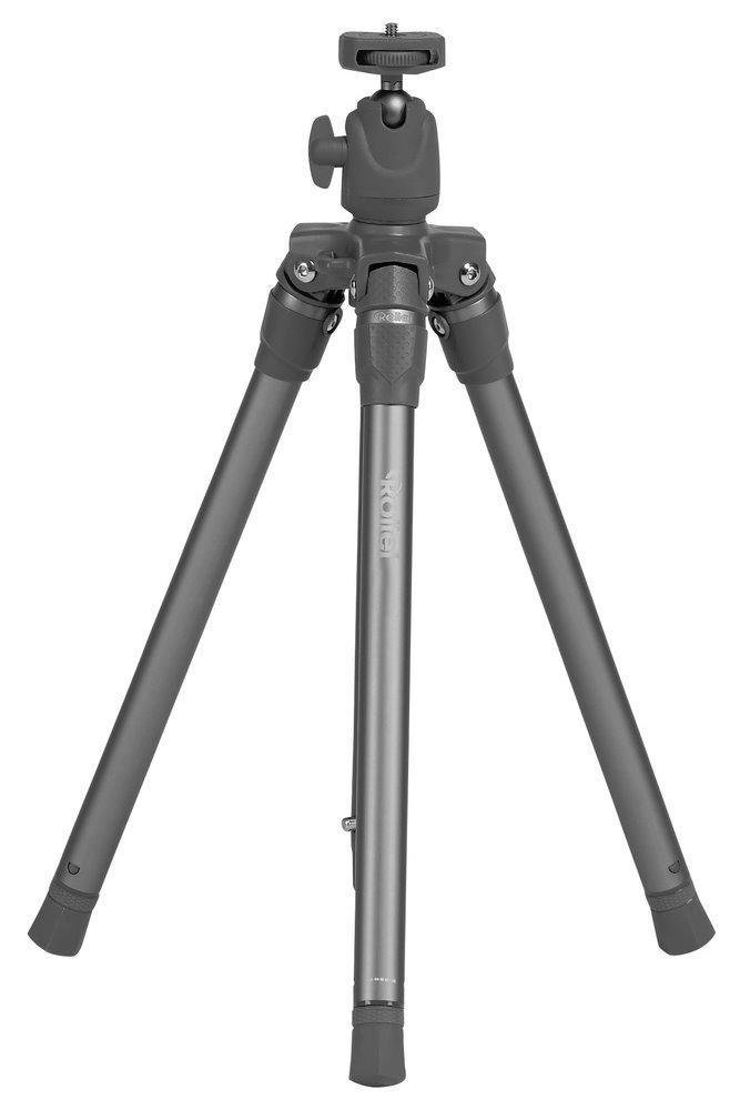 Stativ Rollei S3 Plus šedý Stativ, zátěž 2,5 kg, vytažený 127 cm, hliník, šedý