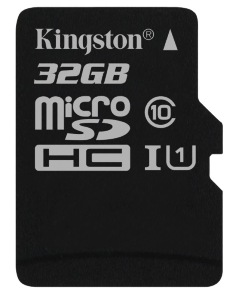 Paměťová karta Kingston MicroSDHC 32 GB