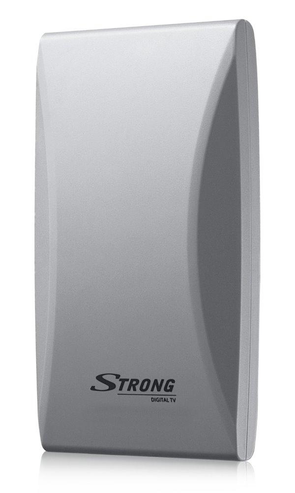 Anténa Strong SRT ANT 45 Anténa, venkovní, digitální, DVB-T/T2, LTE filtr, zisk 20 dB za VHF, 16 dB za UHF, bílá