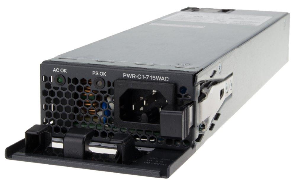Napájecí zdroj Cisco PWR-C1-715WAC= Napájecí zdroj, 715 W, pro Cisco Catalyst 3850