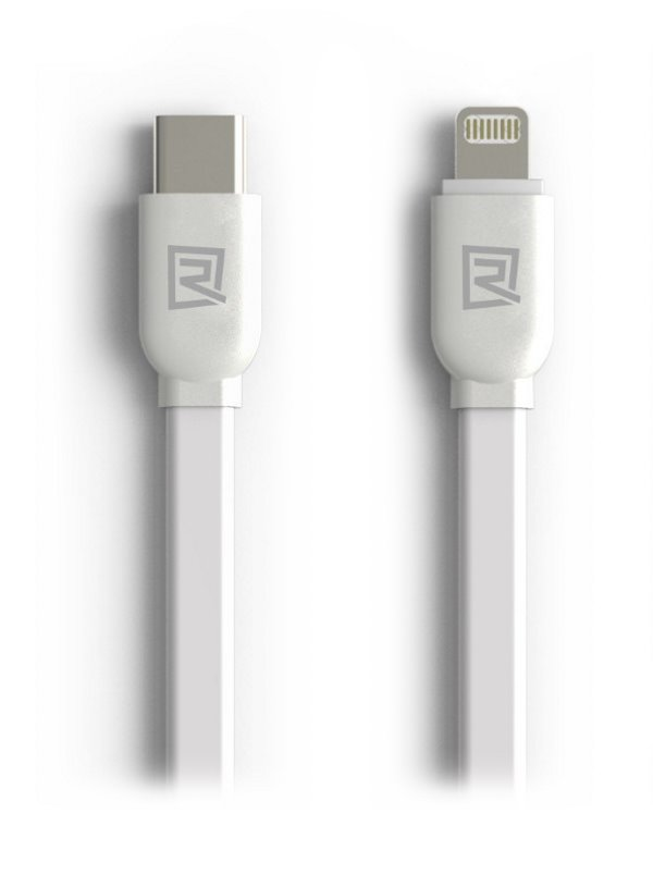 Kabel REMAX USB typ C na Lightning 1m bílý Kabel, synchronizační a nabíjecí, USB typ C na Lightning, 1m, bílý