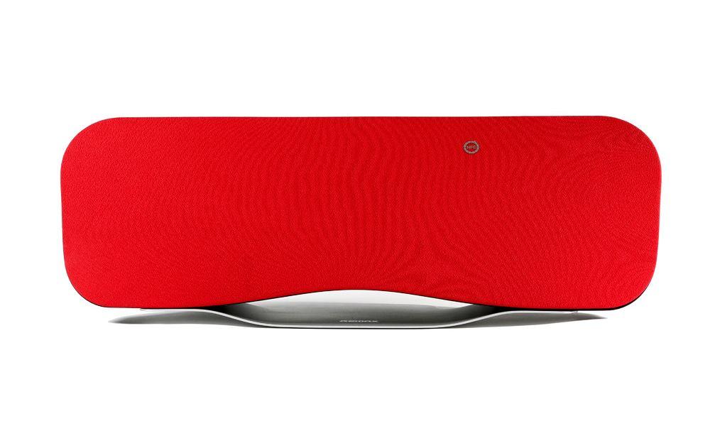 Reproduktor REMAX RB-H6 červený Reproduktor, bezdrátový, stolní, 2.1, Bluetooth, 57W, USB, dálkové ovládání, červený