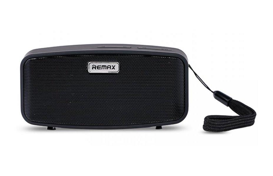 Reproduktor REMAX RM-M1 černý Reproduktor, přenosný, stereo, Bluetooth, 2x3W, černý