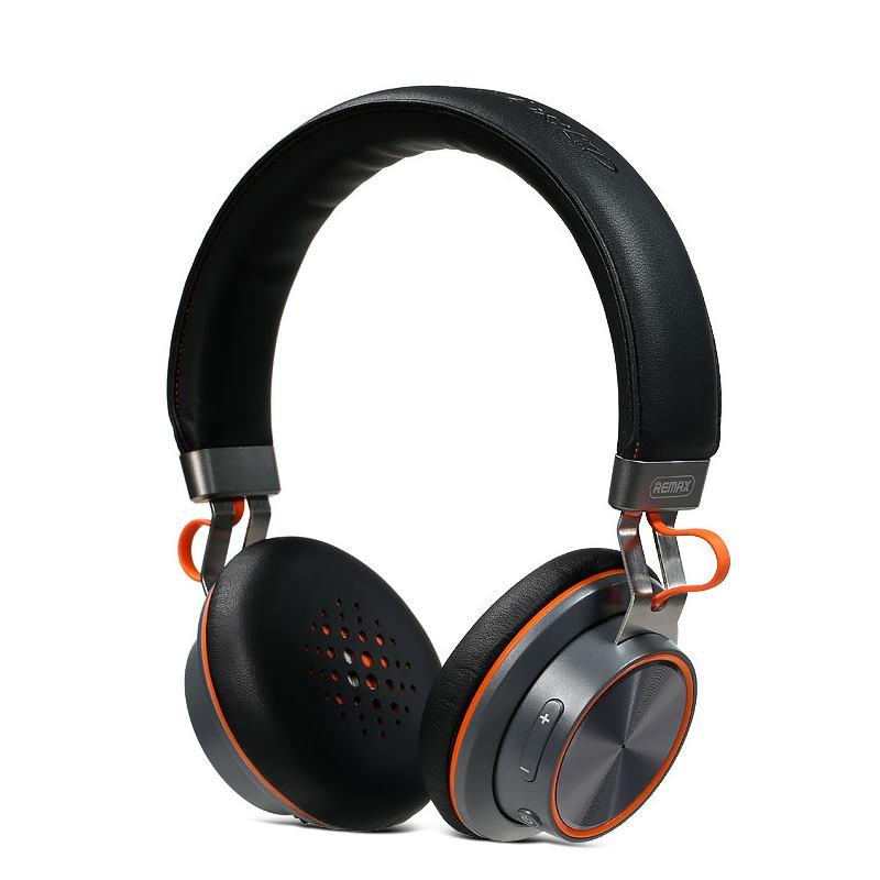 Sluchátka REMAX RB-195HB černá Sluchátka, bezdrátová, náhlavní, Bluetooth, pohotovostní doba max. 14h, černá