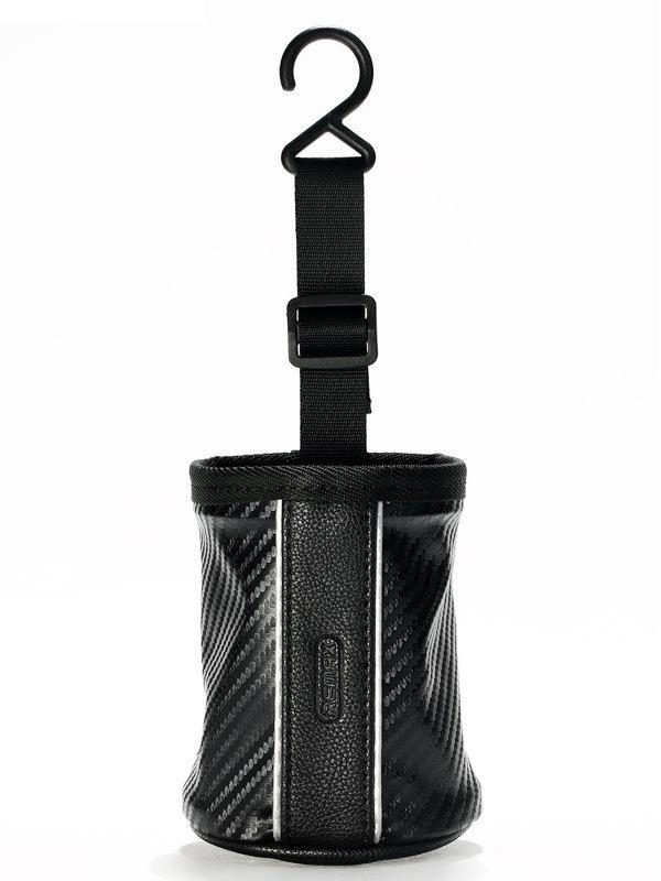 Batůžek REMAX CS-001 Batůžek do auta, zavěšení do ventilace auta, vhodné pro mobilní telefony, klíče a brýle, černý