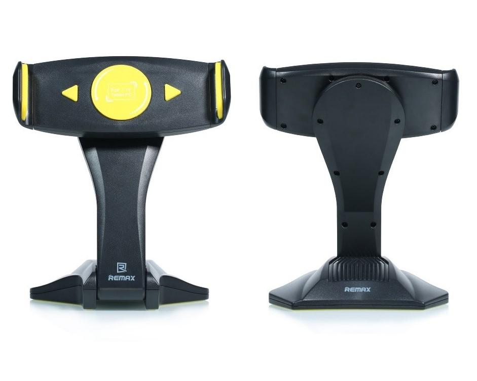 """Držák REMAX RM-C16 černo-žlutý Držák, univerzální, na stůl, pro tablety 7"""" - 15"""", černo-žlutý"""