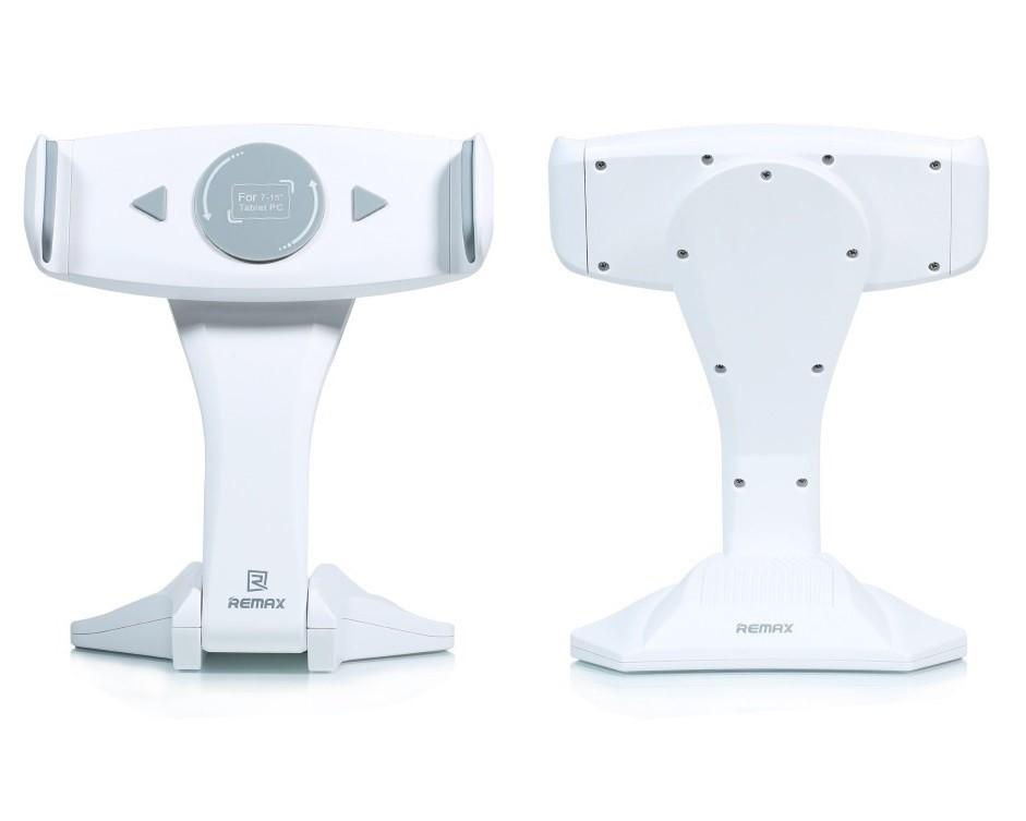 """Držák REMAX RM-C16 bílo-šedý Držák, univerzální, na stůl, pro tablety 7"""" - 15"""", bílo-šedý"""