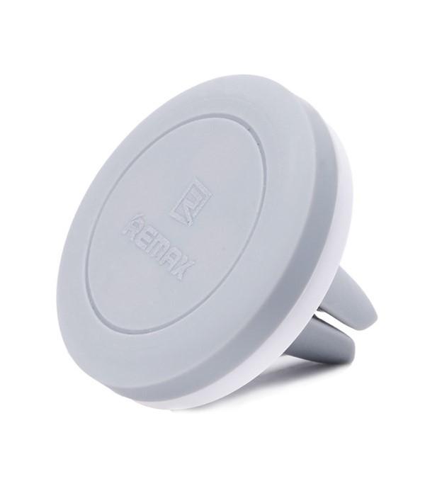 Držák REMAX RM-C10 šedý Držák, univerzální, do auta, do ventilační mřížky, magnetický, šedý
