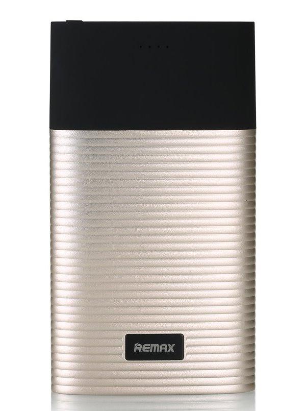 PowerBank REMAX RPP-27 zlatá PowerBank, 10000mAh, výstup 2x USB 2.0 typ A samice, zlatá