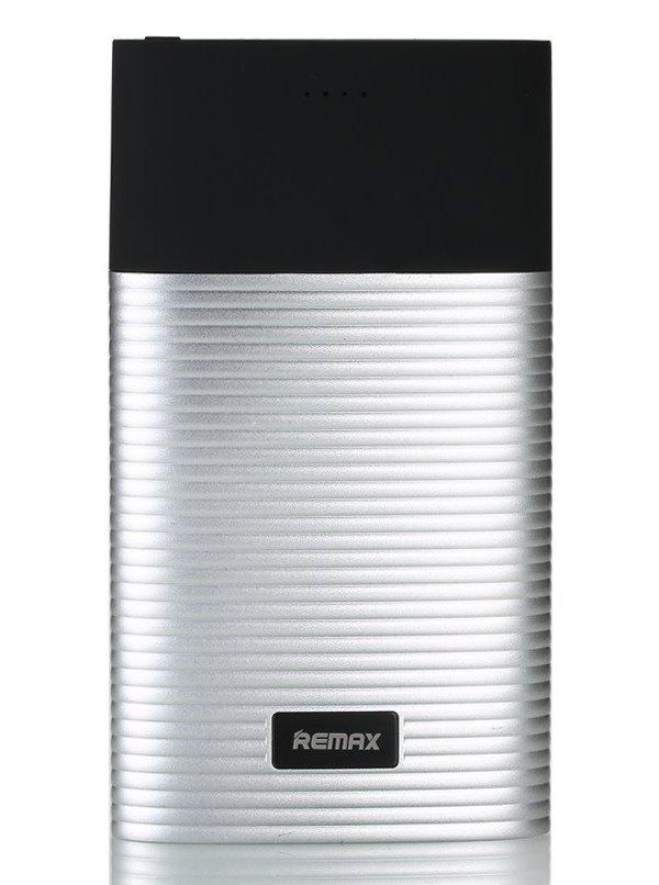 PowerBank REMAX RPP-27 stříbrná PowerBank, 10000mAh, výstup 2x USB 2.0 typ A samice, stříbrná