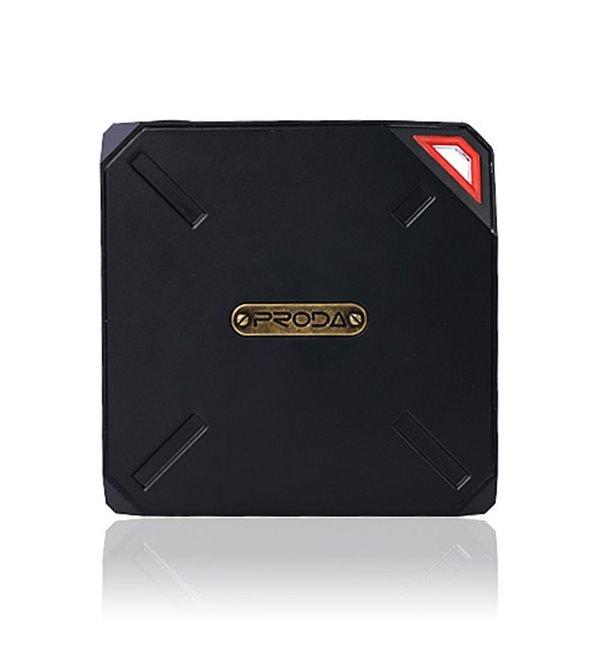 PowerBank REMAX PPP-6 černo - červená PowerBank, 10000mAh, výstup 1x USB 2.0 typ A samice, černo-červená