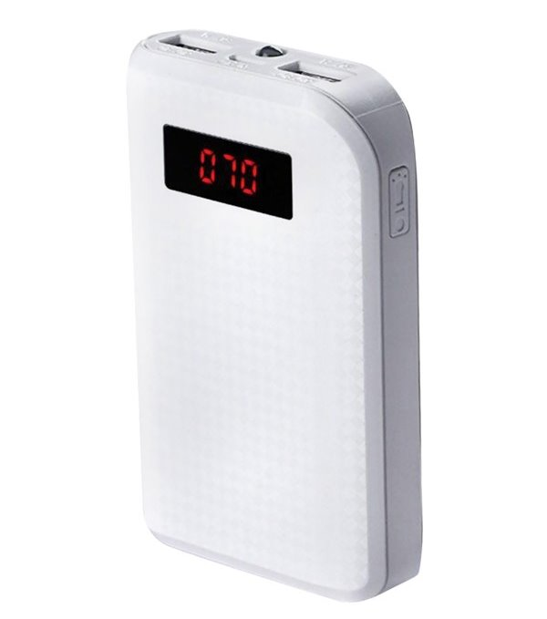 PowerBank REMAX PPL-11 bílá PowerBank, 10000mAh, výstup 2x USB 2.0 typ A samice, bílá