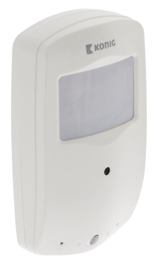 Skrytá kamera König SAS-DVRPIR10 Skrytá kamera, detektor, 1x CR2025, USB, bílá