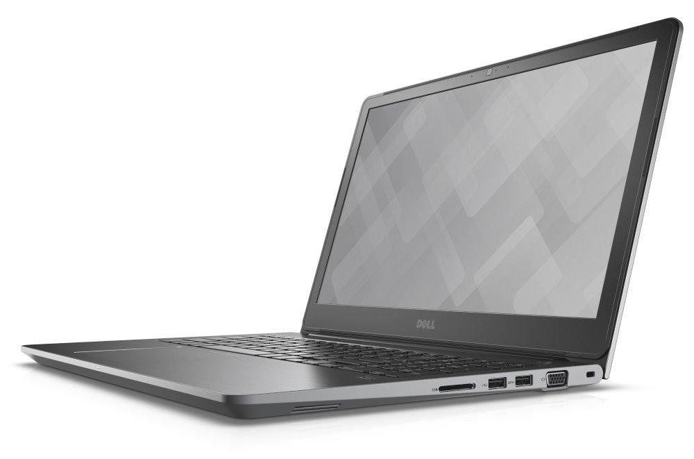 "Notebook Dell Vostro 15 5000 (5568) Notebook, i7-7500U, 8GB, 1TB, NVIDIA 940MX 4GB, 15.6"" FHD, W10 Pro, šedý, 3YNBD on-site"