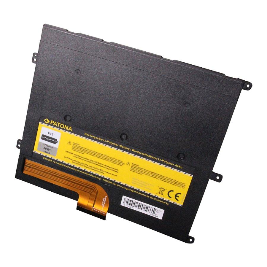 Baterie PATONA pro Dell 2700 mAh Baterie, pro notebook, 2700mAh, Li-Pol, 11,1V, pro Dell Vostro V13, V130, kompatibilní s baterií 0PRW6G, T1G6P
