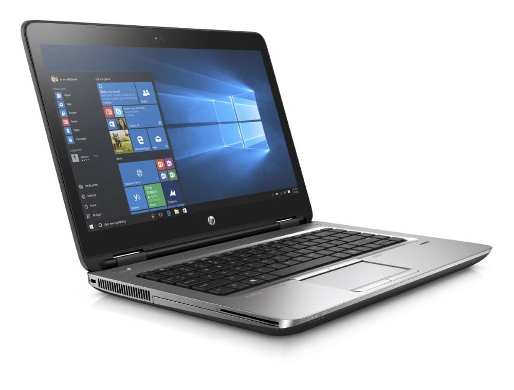 "Notebook HP ProBook 640 G3 Notebook, i5-7200U, 8GB, 256GB SSD, DVDRW, Wi-Fi ac, BT, čtečka otisků prstů, 14"" FHD, W10 Pro"