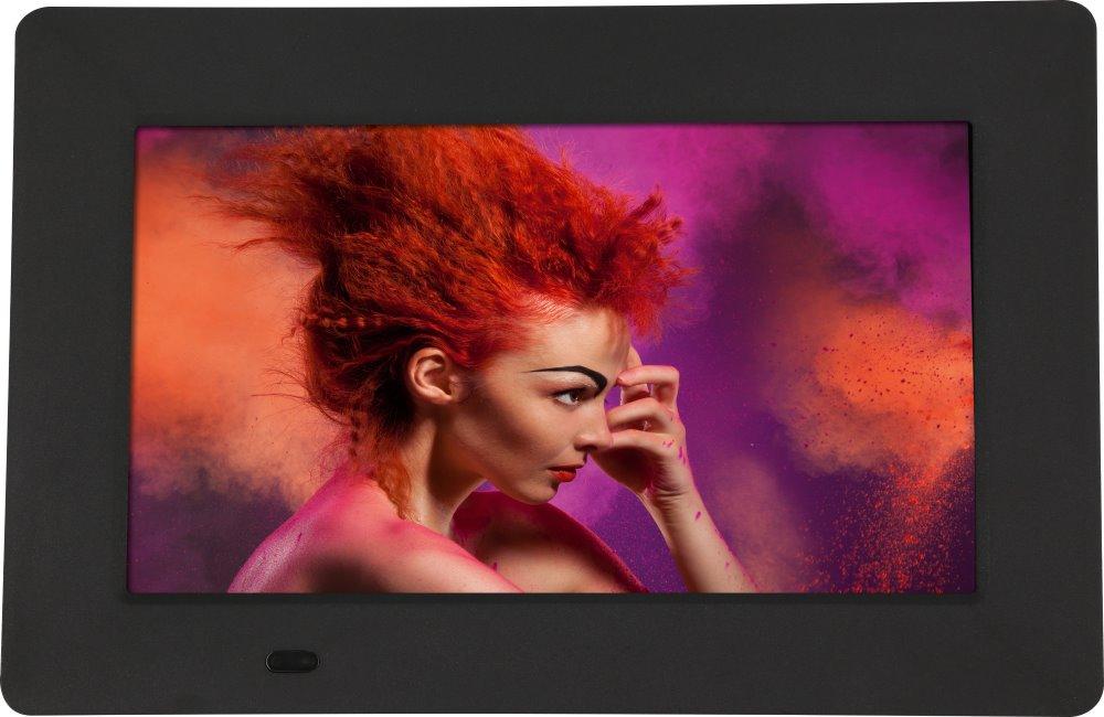 """Digitální fotorámeček Rollei Pissarro DPF-700 Digitální fotorámeček, 7"""", 800 x 480 px, SD slot, USB, černý"""