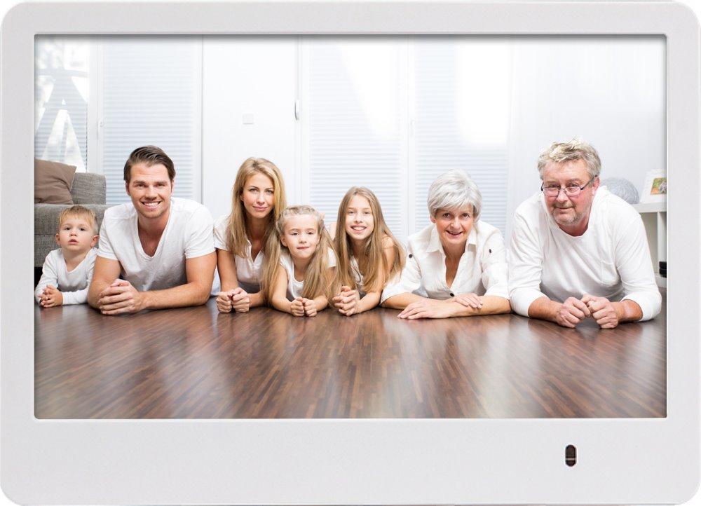 """Digitální fotorámeček Rollei Pissarro DPF-82 bílý Digitální fotorámeček, 8"""", 1280 x 768 px, SD slot, USB, bílý"""