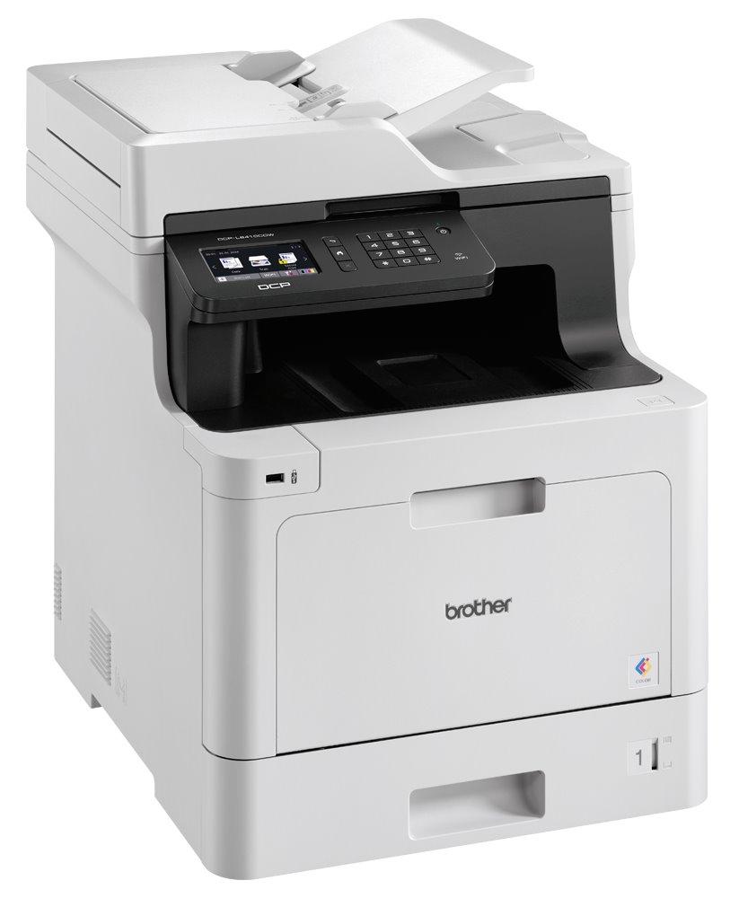 BROTHER laser DCP-L8410CDW / A4 / 2400x600 dpi / tisk / sken / kopírování / duplex / USB / Wi-Fi / LAN