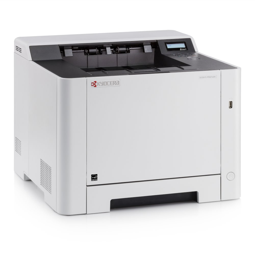 Kyocera ECOSYS P5021CDN/ A4/ 21ppm/ 1200x1200 dpi/ PCL+PS/ 512MB RAM/ Duplex/ USB/ LAN