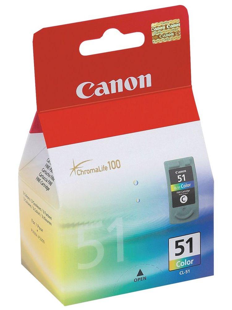 Canon inkoustová náplň CL-51/ barevná