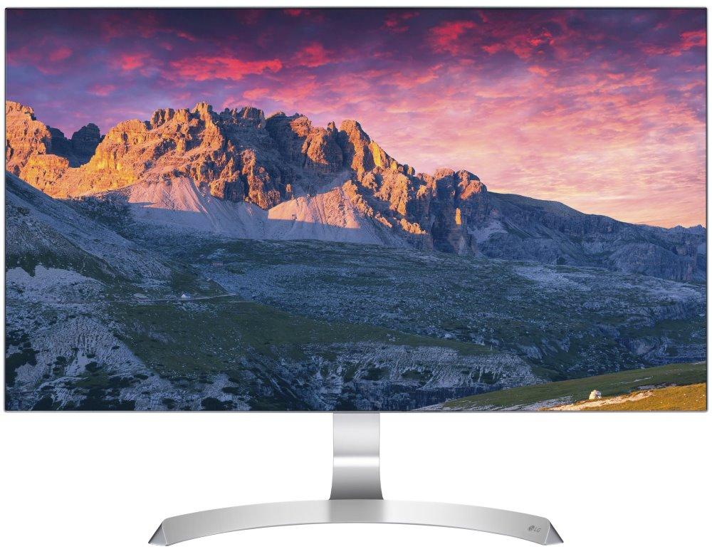 """LED monitor LG 27MP89HM-S 27"""" LED monitor, 27"""", 1920x1080, 16:9, 250cd, repro 2x5W, 2xHDMI, D-sub"""