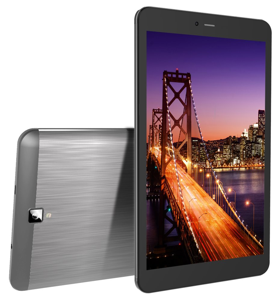 "Tablet iGET Smart G81 černý Tablet, 8"", Quad Core 1,3 GHz, 1GB RAM, 8GB, 3G, Android 7, černý"