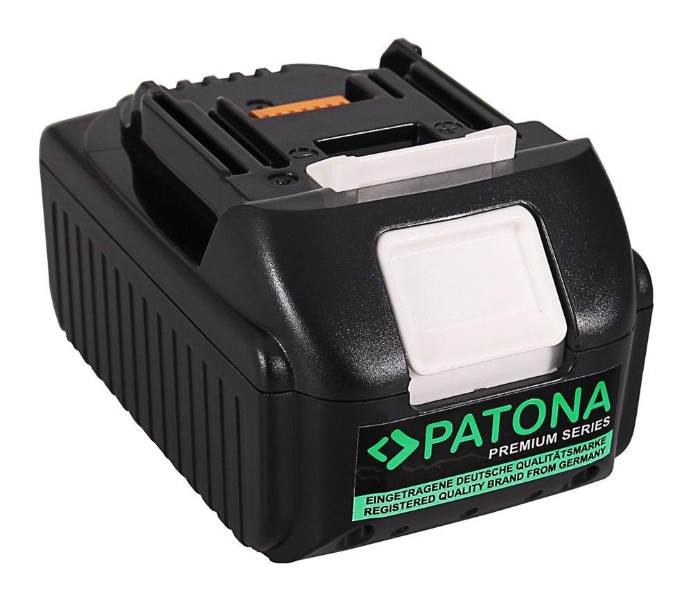 Baterie Patona pro Makita 5000 mAh Baterie, pro nářadí, 5000mAh, 18V, Li-Ion, pro Makita BCF201, BGA402Z, TD147DZ, kompatibilní s baterií 194204-5